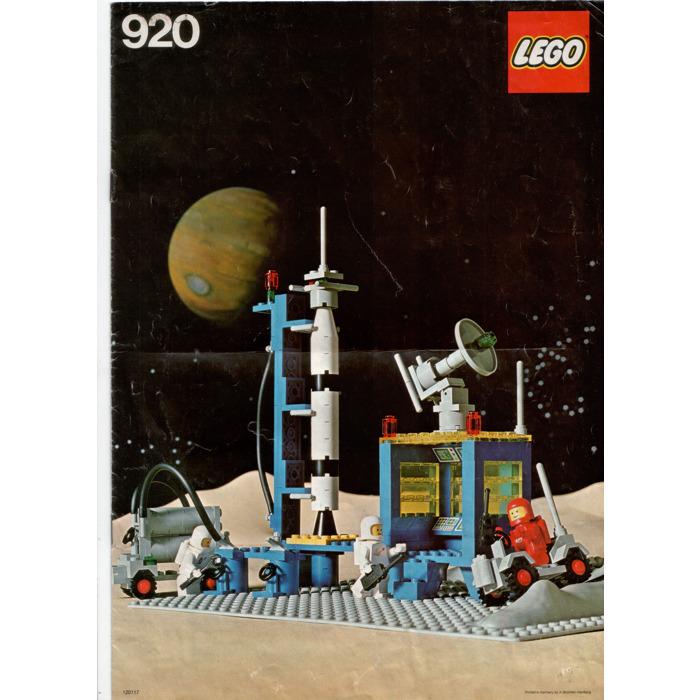 Lego Rocket Launch Pad Set 920 2 Instructions Brick Owl Lego