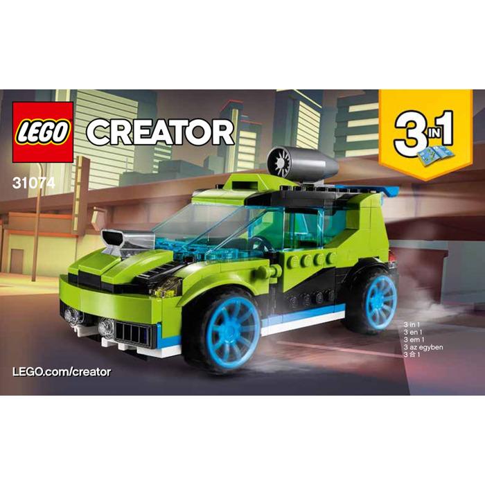 Lego Rocket Rally Car Set 31074 Instructions Brick Owl Lego