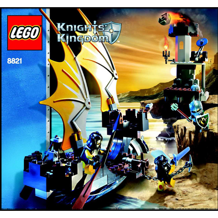 Lego Rogue Knight Battleship Set 8821 Instructions Brick Owl
