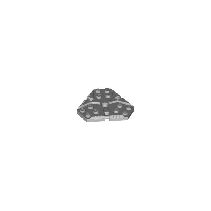 LEGO Medium Stone Gray Rotor with 4.85 Hole (27255)