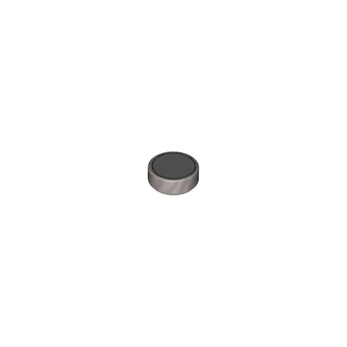 Free p /& p Part 98138pb028 25 x LEGO Tiles Round 1x1 with Eye Pattern