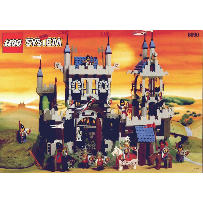 Lego Royal Knights Castle Set 6090 Instructions Brick Owl Lego