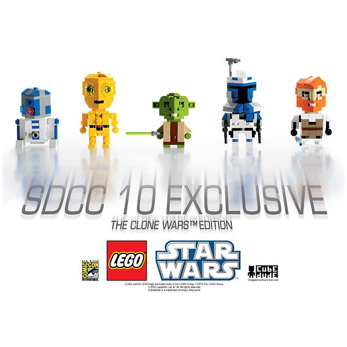 LEGO San Diego Comic Con 2010 Exclusive - CubeDude - The Clone Wars ...