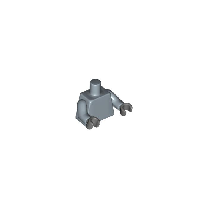 Lego Hands x 10 Dark Stone Grey for Lego Minifigures 5 Pairs