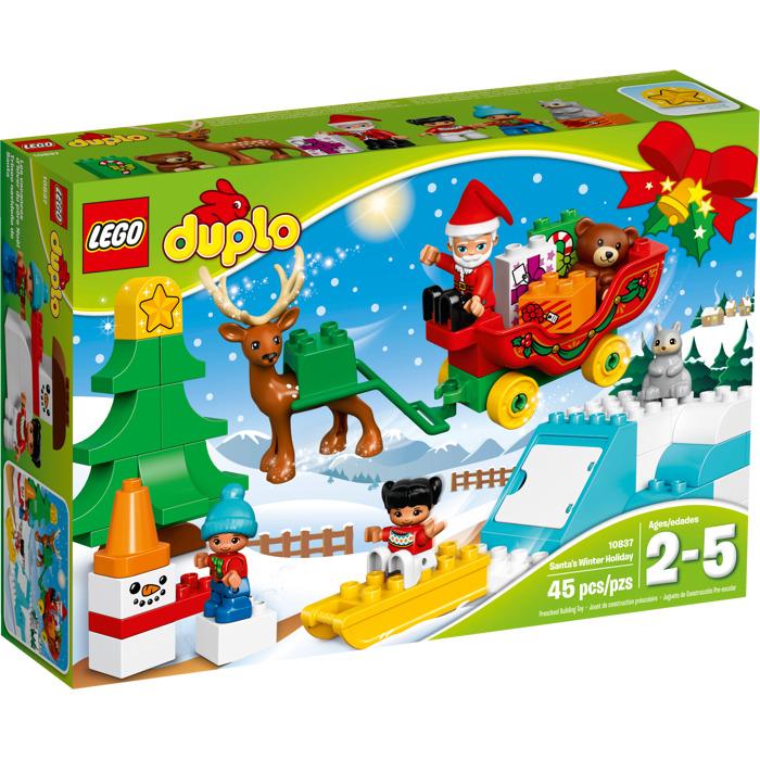 Lego santa 39 s winter holiday set 10837 brick owl lego marketplace - Adventskalender duplo ...