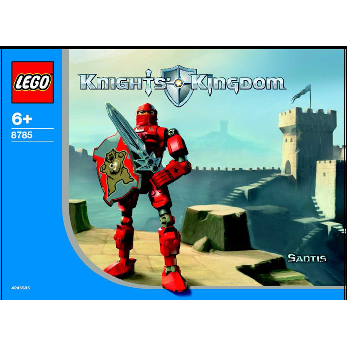 Lego 8785 Knights Kingdom Series 1 Santis US Version Pre-Owned