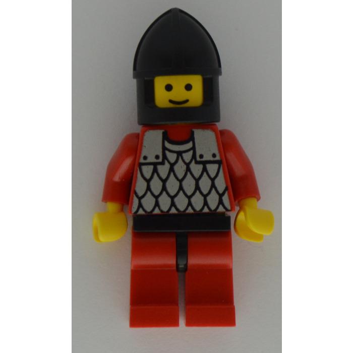 Lego ® Classic Minifig Accessories 1 x Knight Guard Helmet in Alt Black 3896