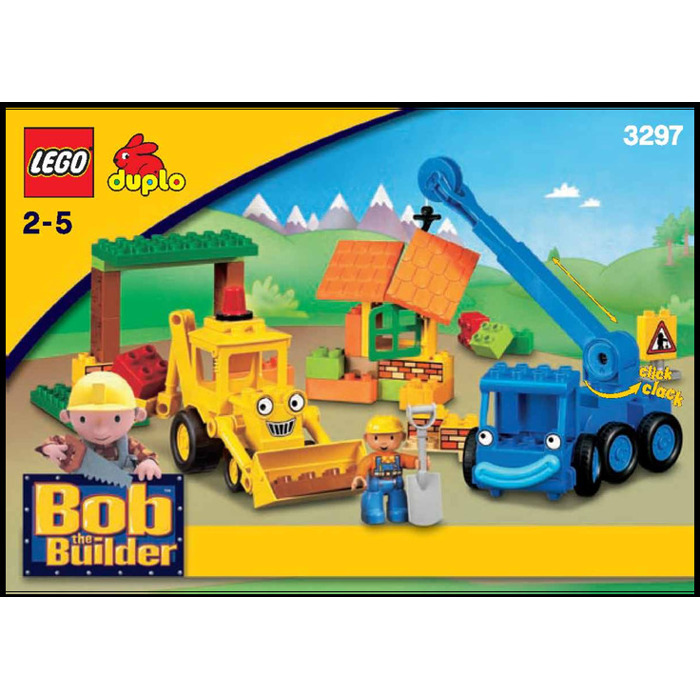 LEGO Scoop and Lofty at the Bob The Builder Lofty Lego