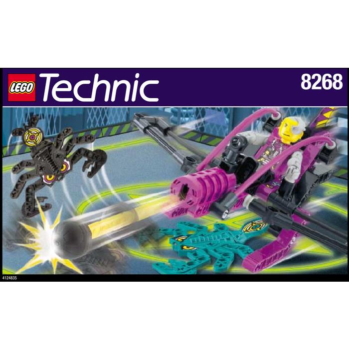 Lego Scorpion Attack Set 8268 Instructions Brick Owl Lego