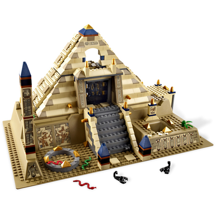lego pyramid game instructions
