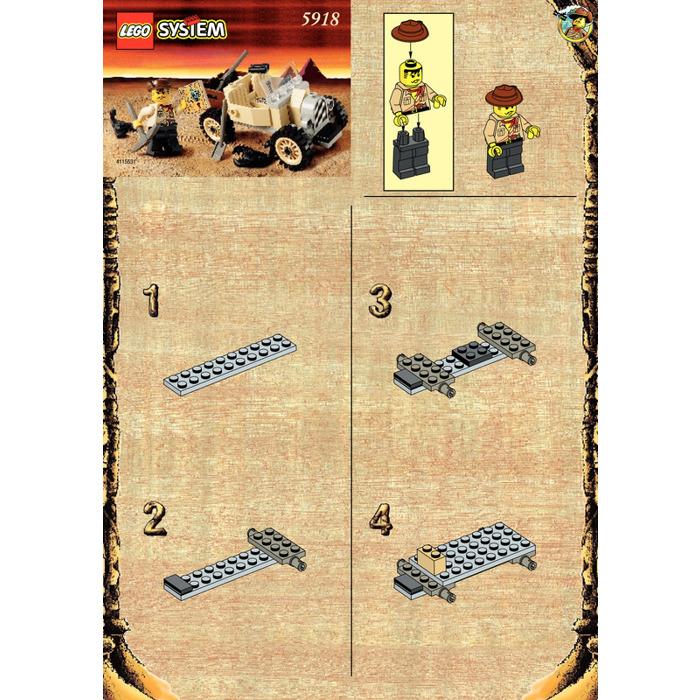 Lego Scorpion Tracker Set 5918 Instructions Brick Owl Lego