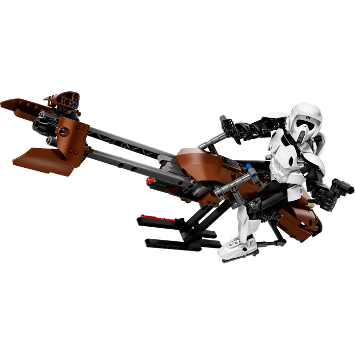 lego star wars speeder bike instructions
