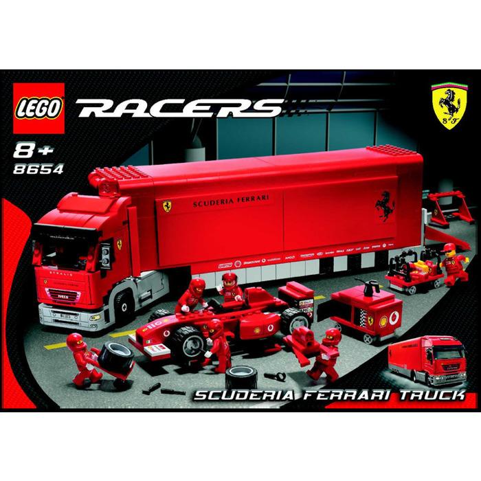 lego scuderia ferrari truck set 8654 instructions brick. Black Bedroom Furniture Sets. Home Design Ideas