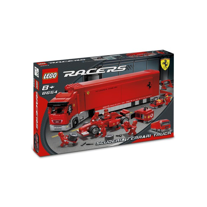 lego scuderia ferrari truck set 8654 packaging brick owl. Black Bedroom Furniture Sets. Home Design Ideas