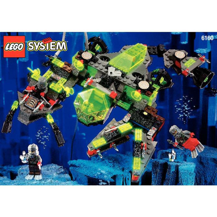 Lego Sea Scorpion Set 6160 Instructions Brick Owl Lego Marketplace