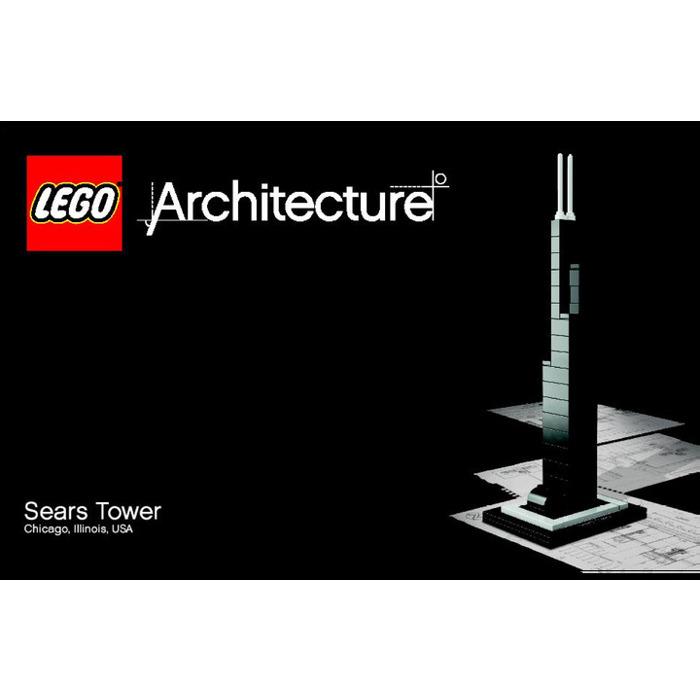 Lego Sears Tower Set 21000 1 Instructions Brick Owl Lego Marketplace