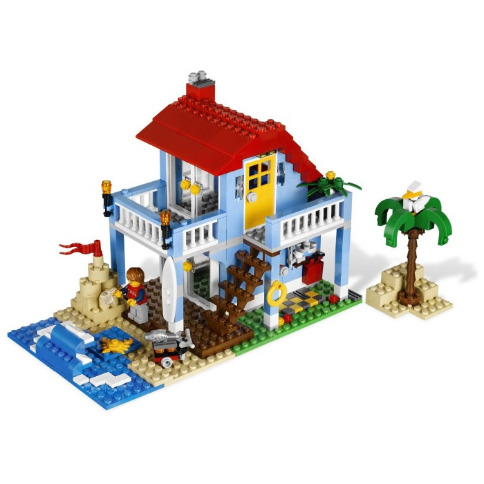 lego seaside house instructions