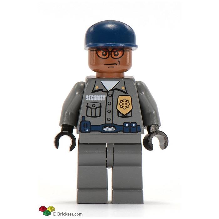 LEGO Security Guard Minifigure | Brick Owl - LEGO Marketplace
