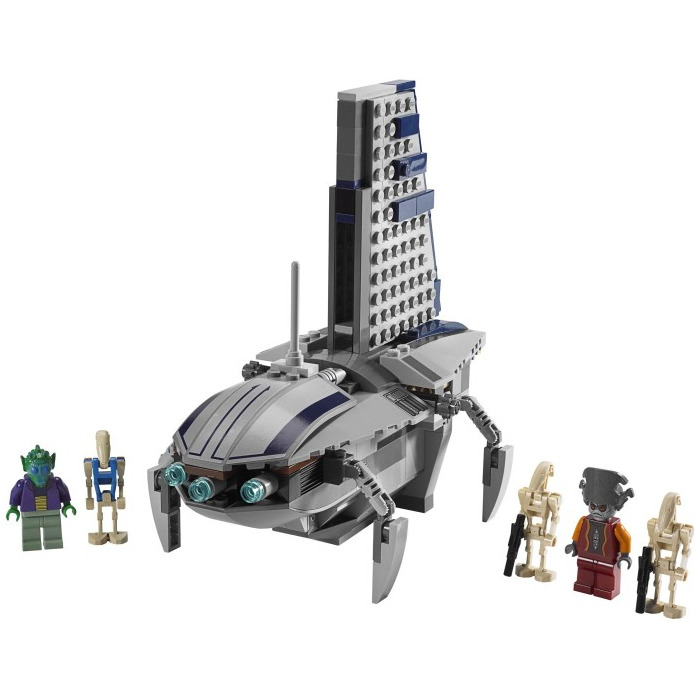 lego star wars separatist shuttle instructions