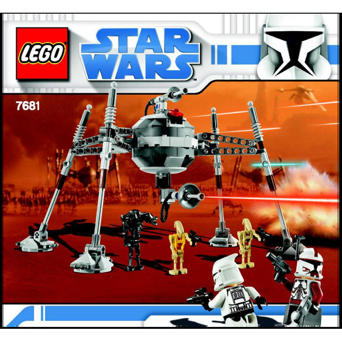 Lego Separatist Spider Droid Set 7681 Instructions Brick Owl