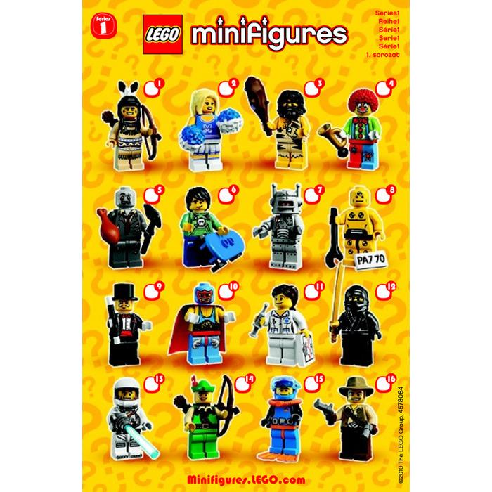 Lego Series 1 Minifigure Random Bag Set 8683 0