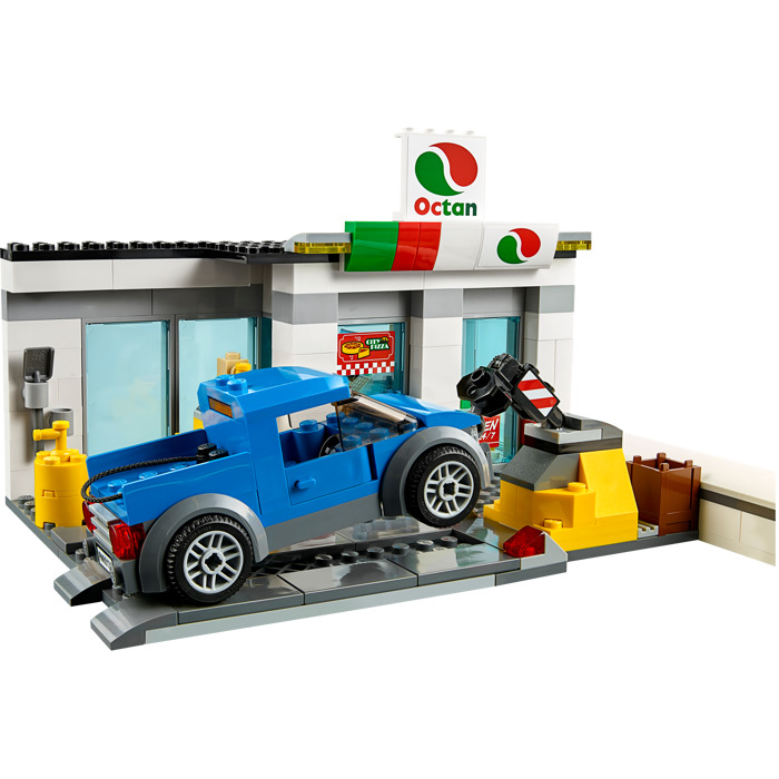 lego petrol station instructions