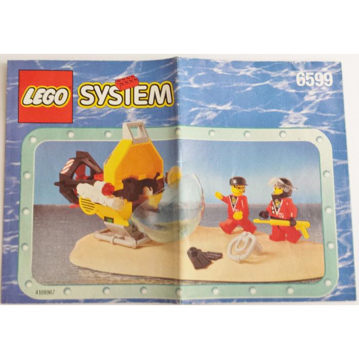 Lego Shark Attack Set 6599 Instructions Brick Owl Lego Marketplace