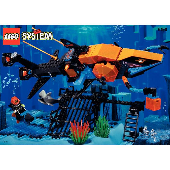 Lego Sharks Crystal Cave Set 6190 Instructions Brick Owl Lego