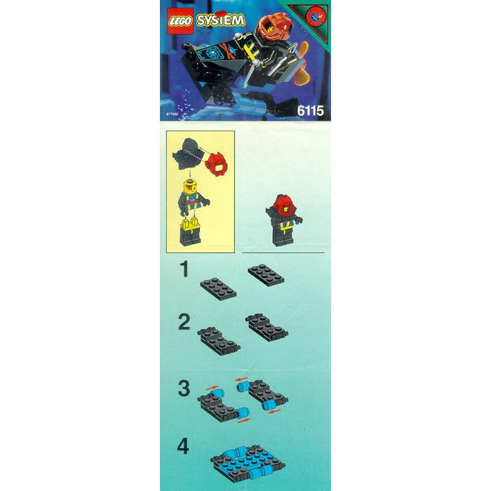 Lego Shark Scout Set 6115 Instructions Brick Owl Lego Marketplace