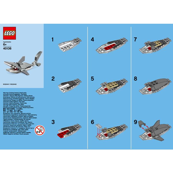 Lego Shark Set 40136 Instructions Brick Owl Lego Marketplace
