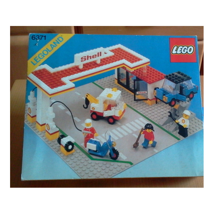 LEGO Shell Service Station Set 6371 Packaging