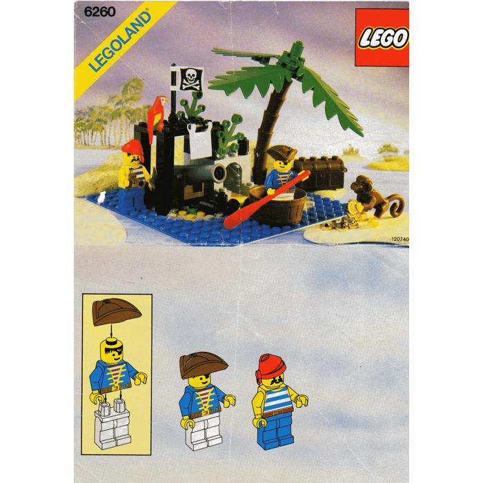 Lego Shipwreck Island Set 6260 Instructions Brick Owl Lego Marketplace