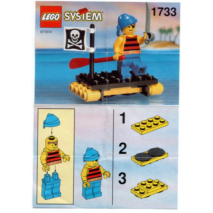 Lego Shipwrecked Pirate Set 1733 Instructions Brick Owl Lego