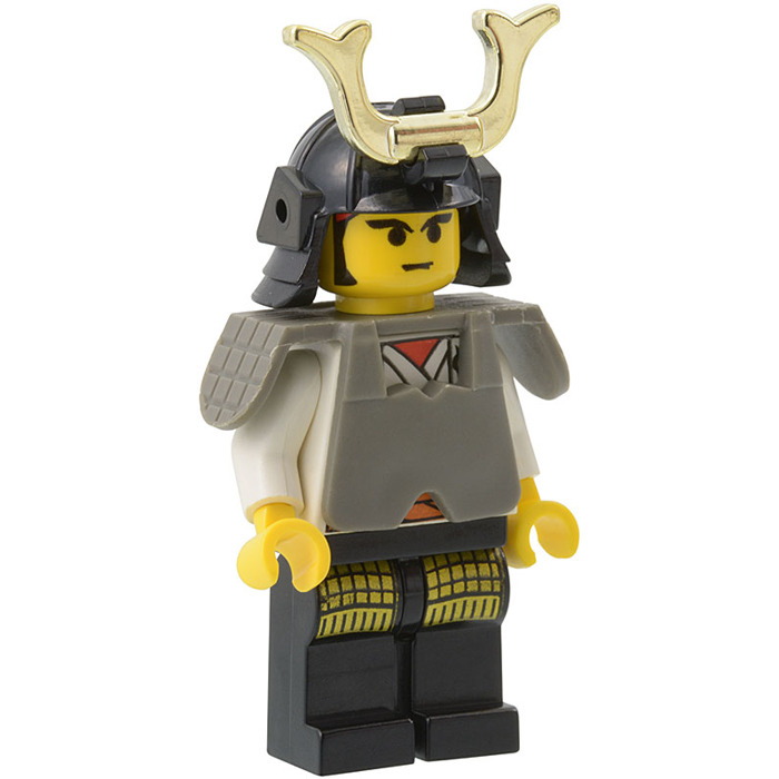 x1 Lego Samurai Figure With Brick Warriors Samurai Helmet