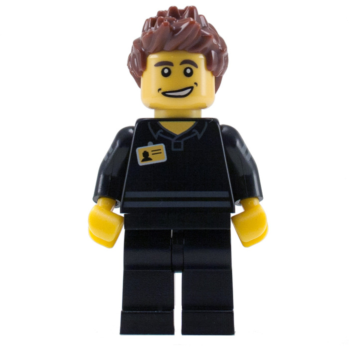LEGO Shop Man Minifigure | Brick Owl - LEGO Marketplace