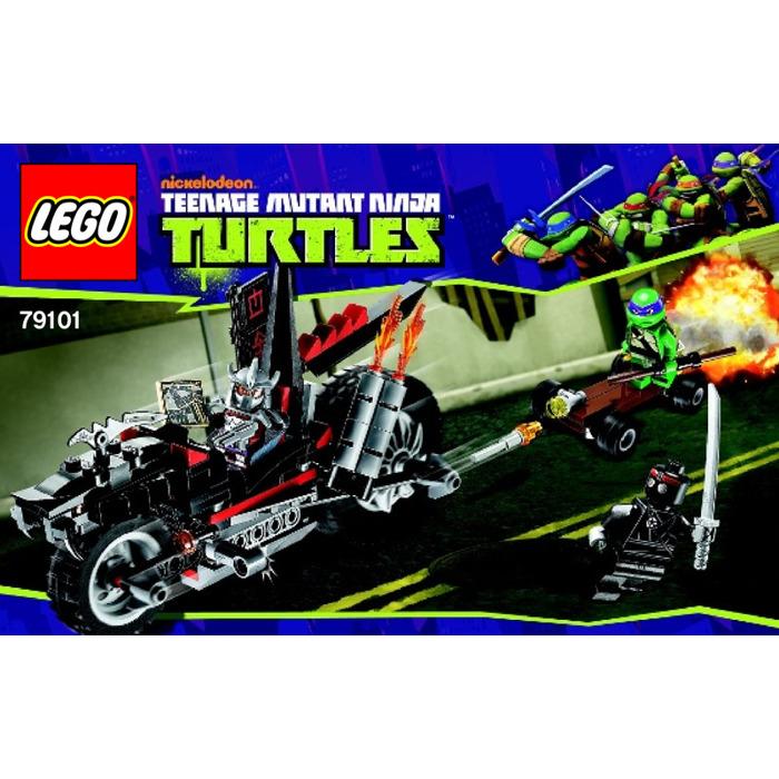 Lego Shredders Dragon Bike Set 79101 Instructions Brick Owl