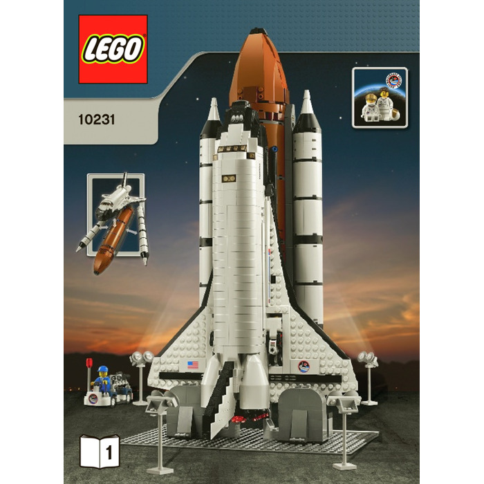 lego space shuttle transport instructions - photo #14