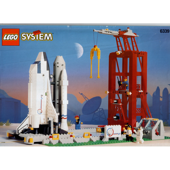 lego space shuttle launch pad 6339 - photo #7