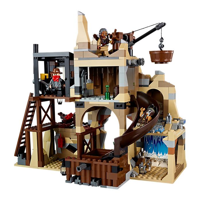 lego city gold mine instructions