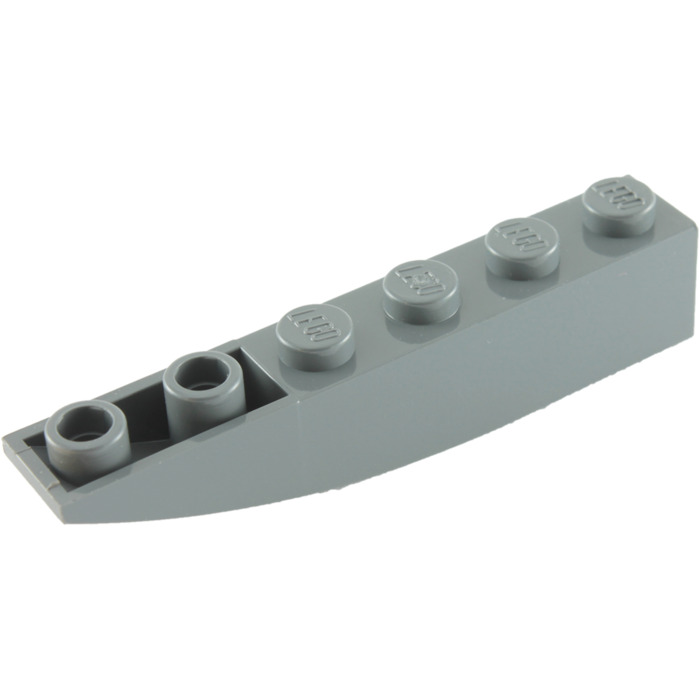 10 NEW LEGO Slope Curved 2 x 2 Inverted Light Bluish Gray