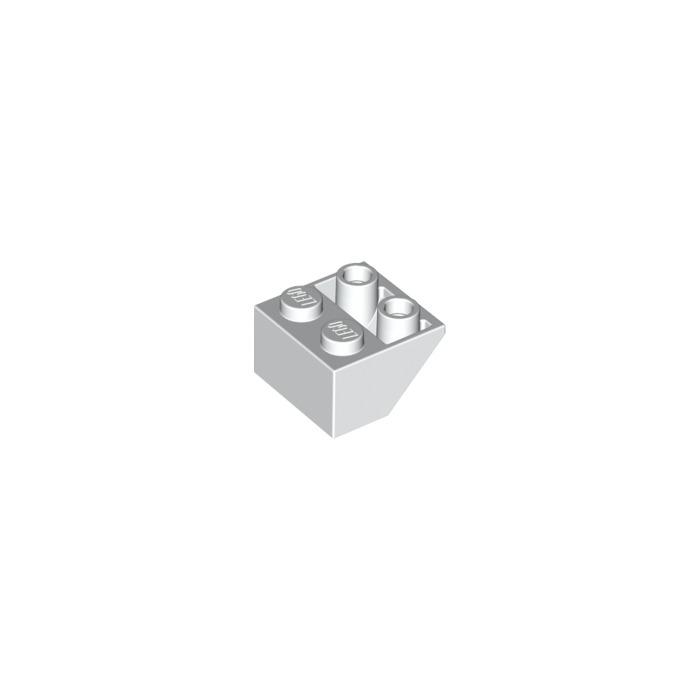 FREE P /& p 20 x Neuf Lego brique 3660 Orange Slope Brick 45 2 x 2 inversé