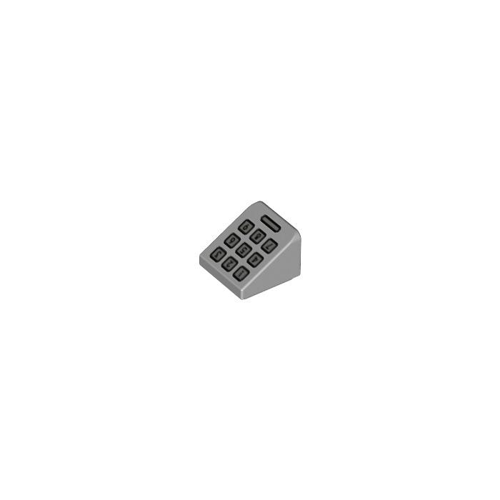 Lego NEW white 1 x 1 slope bricks    Lot of 10