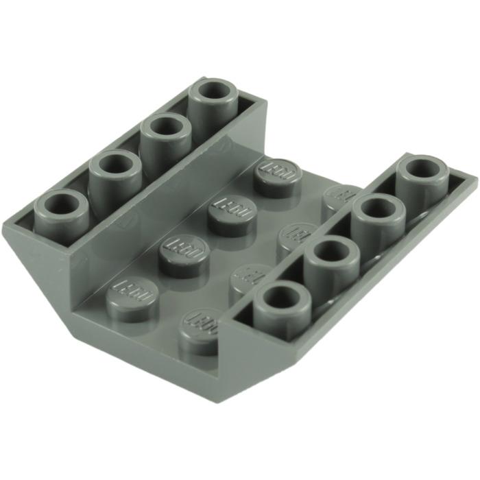 Lego Brick 4854 Slope Inverted 45 4x4 Double Black Set of 3 LEGO Bau- & Konstruktionsspielzeug