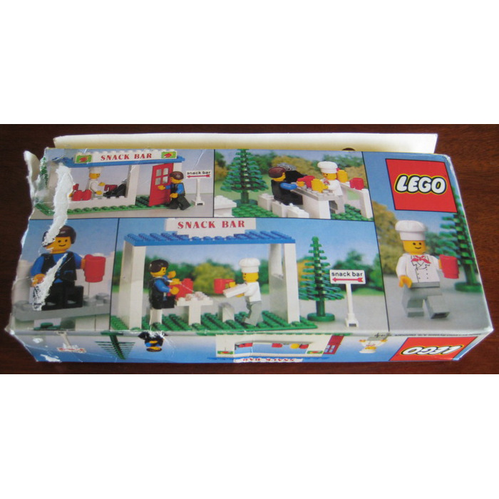 ... > LEGO Packaging > Town > Classic > LEGO Snack Bar Set 675 Pa...