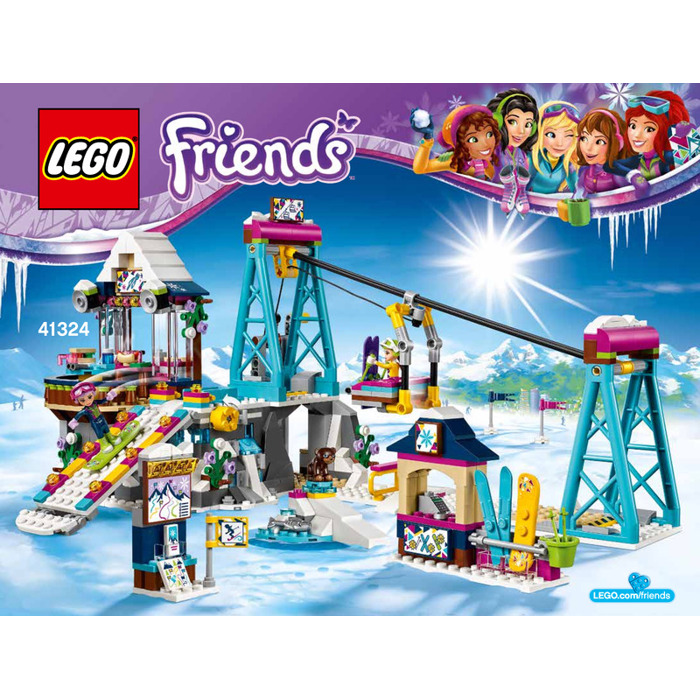 lego friends hotel instructions