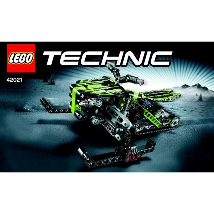 Lego Snowmobile Set 42021 Instructions Brick Owl Lego Marketplace