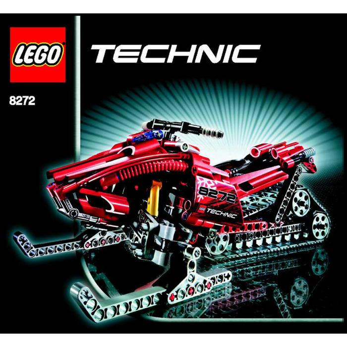 Lego Snowmobile Set 8272 Instructions Brick Owl Lego Marketplace