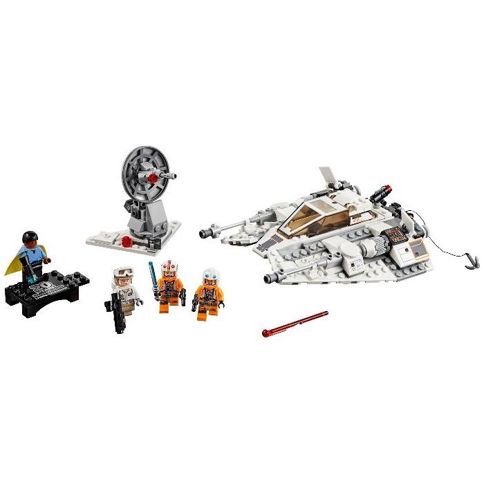 Lego Star Wars Luke Skywalker minifigure from set 75235 /& 75259