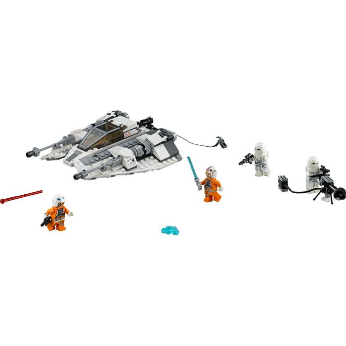 STICKER SHEET STAR WARS Snowspeeder LEGO 75049