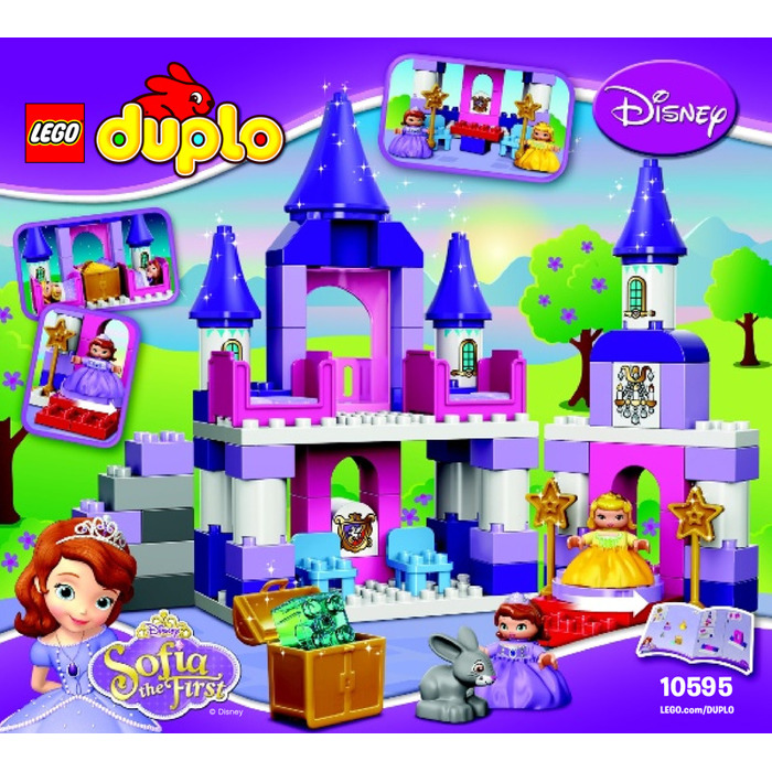 Lego Sofia The First Royal Castle Set 10595 Instructions Brick Owl